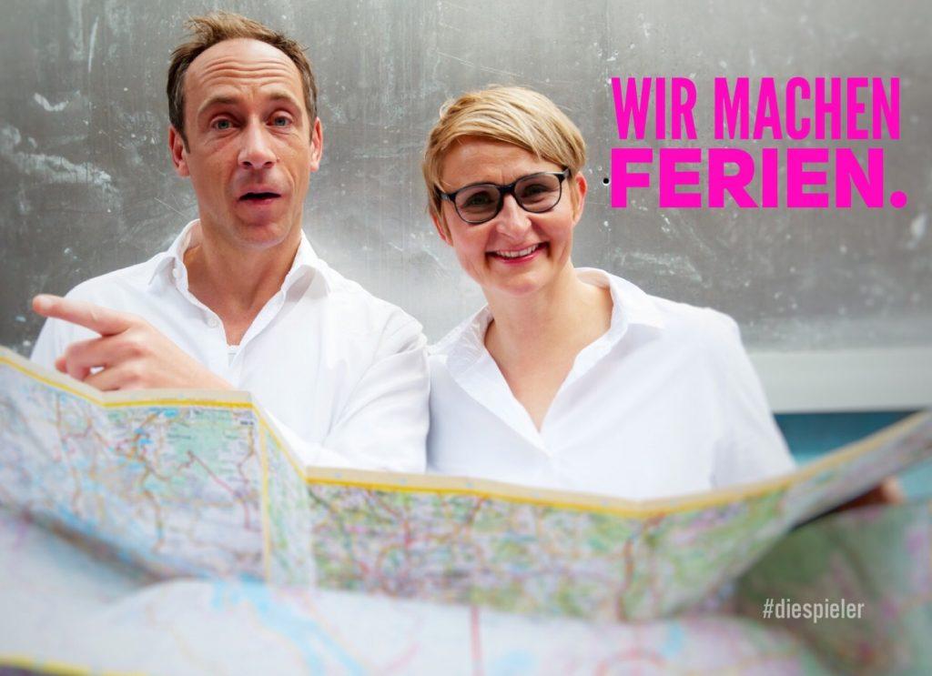 Die Spieler Improvisatiosntheater Hamburg sind in den Ferien
