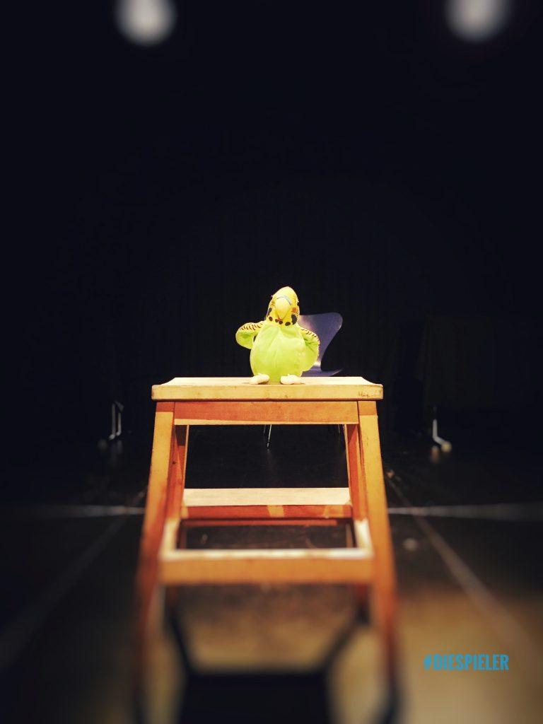 die Spieler Improvisationstheater und Unternehmenstheater Hamburg zu Gast mit Ihrer Impro Flohmarktshow im Goldbekhaus