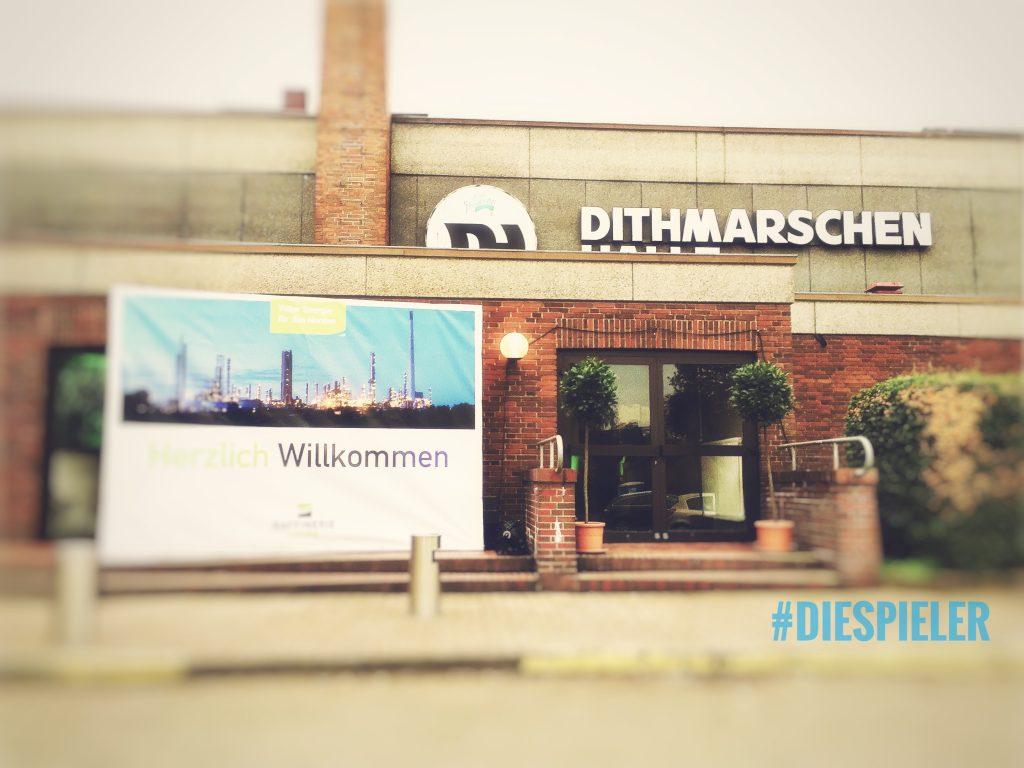 Die Spieler Improvisationstheater und Unternehmenstheater Hamburg zu Gast in der Dithmarschen Halle in Meldorf