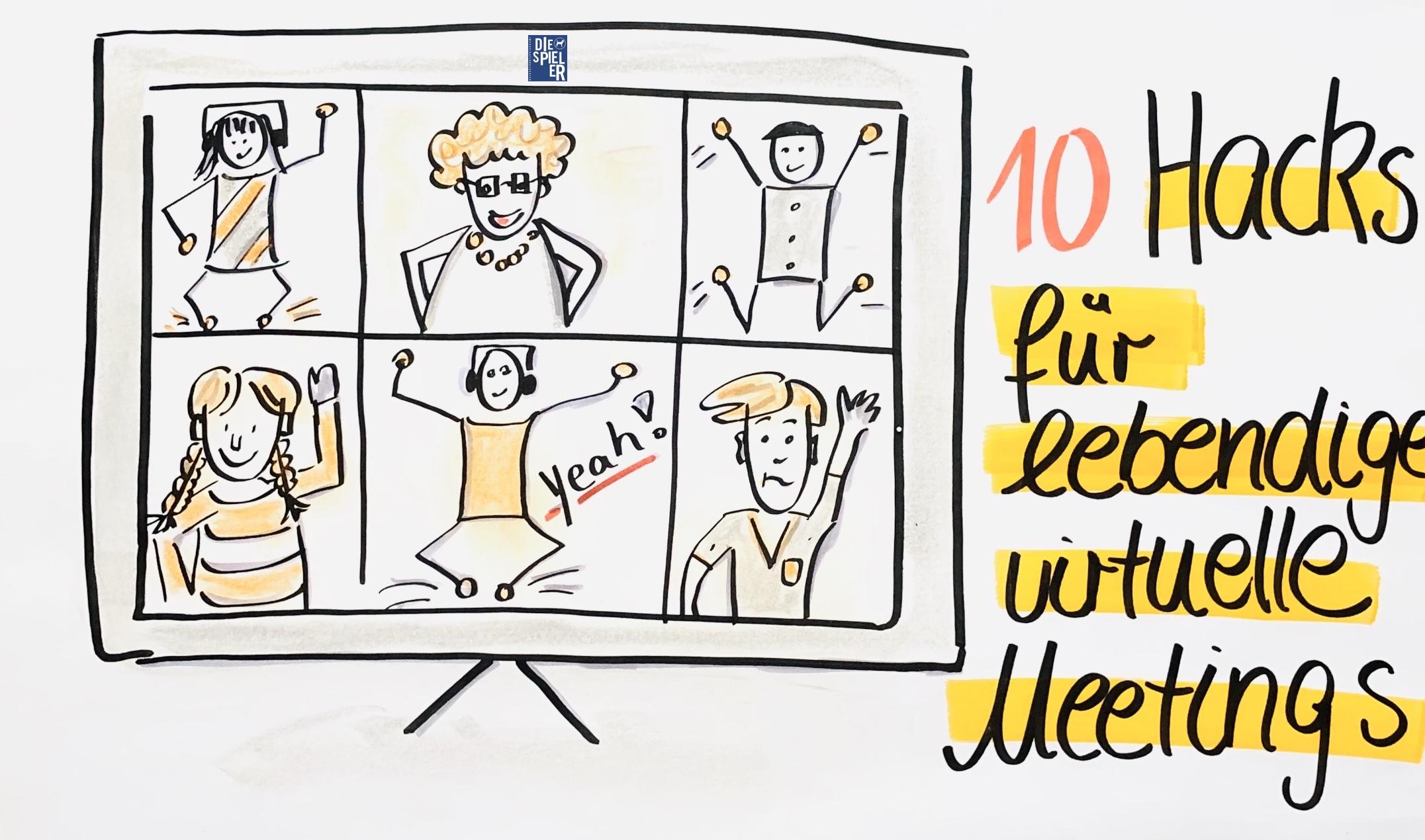 10 Hacks für lebendige virtuelle Meetings