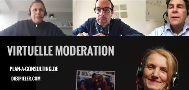 Virtuelle Moderation