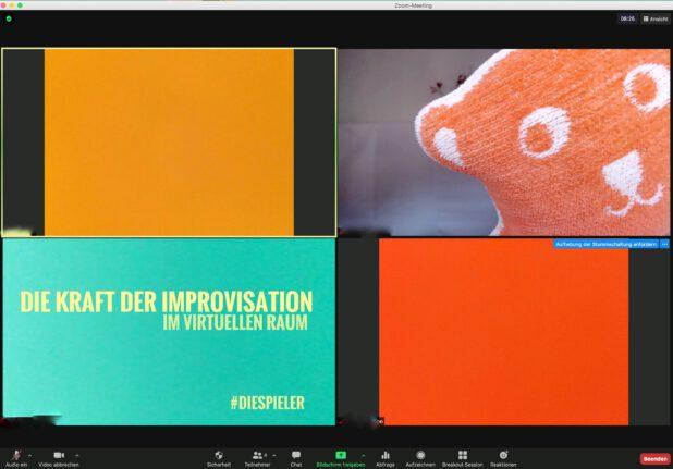 Die Kraft der Improvisation im virtuellen Raum