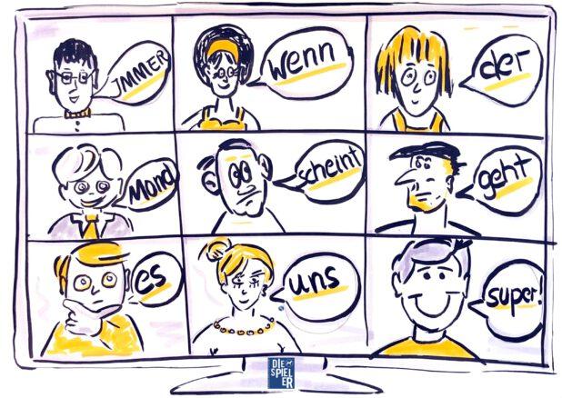 Umgang mit dem Unvorhergesehen die Spieler - das Online Training